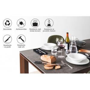 TABLE EN CERAMIQUE durabilité et solidité
