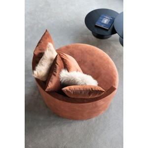 fauteuil design arrondi