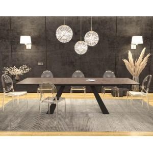 Grande Table en céramique avec allonges INDOOR