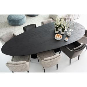 table en chêne noir